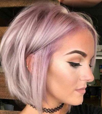 Frizura vékonyszálú hajból